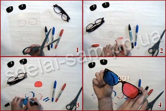Как сделать 3д фотографию своими руками